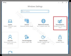 windows-10-personalization