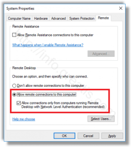 windows-10-allow-remote-connections