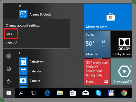 windows-10-start-menu-lock