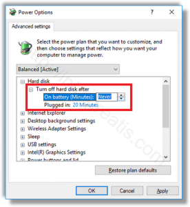 windows-10-turn-off-hard-disk-after