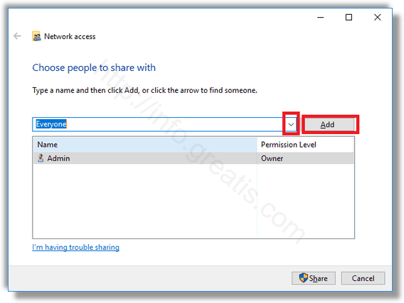 windows-10-choose-people-to-share-with