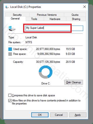 windows-10-type-new-drive-label