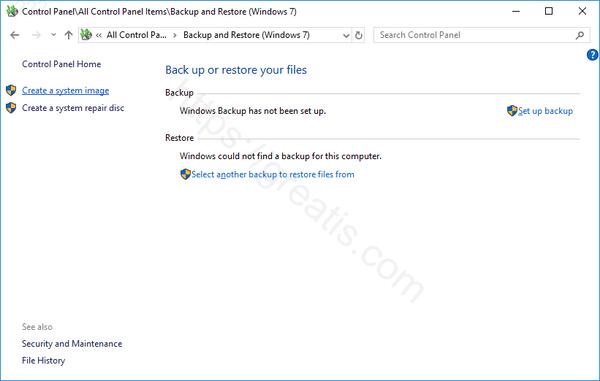 windows-10-Create-System-Image