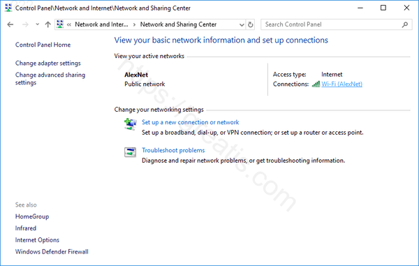 windows-10-current-connection