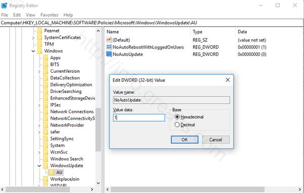 windows-10-disable-updates-using-registry