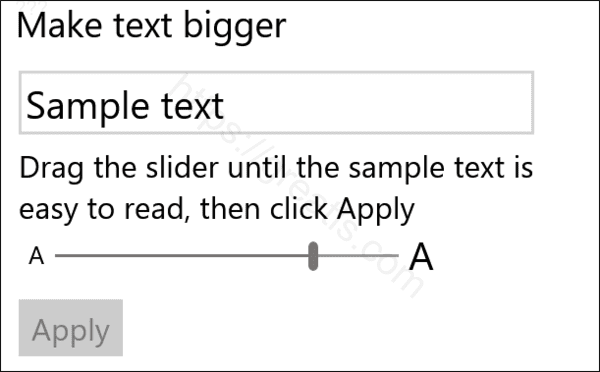 windows-10-make-text-bigger