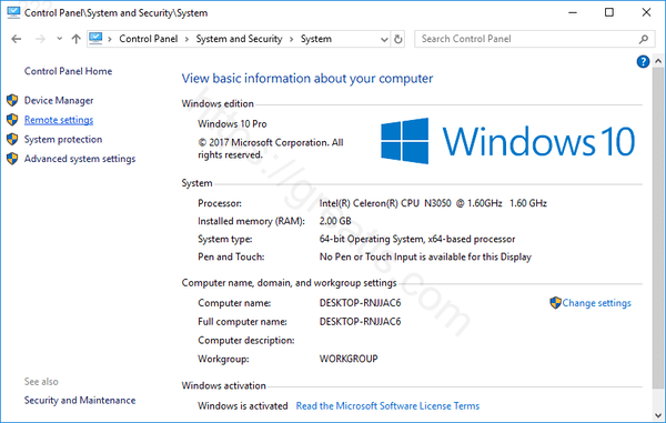 windows-10-system-remote-settings