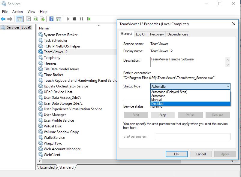 run services console