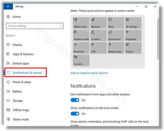 how to show all notofications in windows 10
