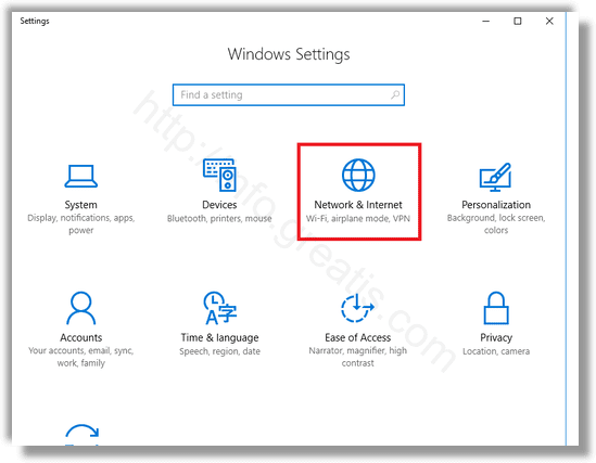how to connect internet on windows 10