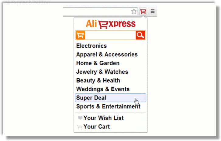 Как избавиться от рекламного вируса aliexpress button в браузерах chrome, firefox, internet explorer, edge