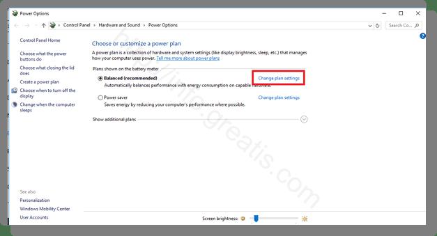how to change sleep settings on windows 10