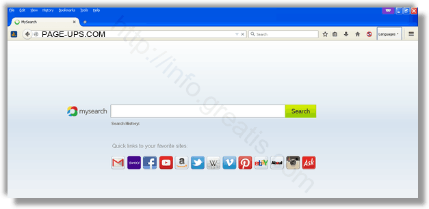 How to get rid of PAGE-UPS.COM adware redirect virus from chrome, firefox, internet explorer, edge