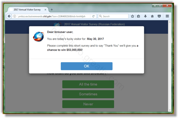 How to get rid of UC123 adware redirect virus from chrome, firefox, internet explorer, edge