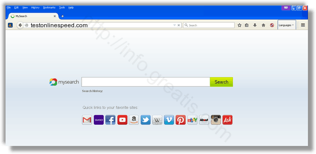 How to get rid of testonlinespeed.com adware redirect virus from chrome, firefox, internet explorer, edge