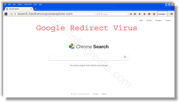 How to get rid of search.hactivecouponsexplore.com adware redirect virus from chrome, firefox, internet explorer, edge