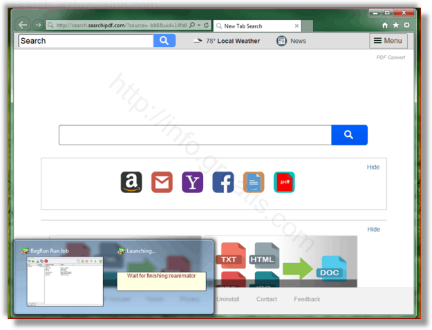 How to get rid of search.iezbrowsing.com adware redirect virus from chrome, firefox, internet explorer, edge