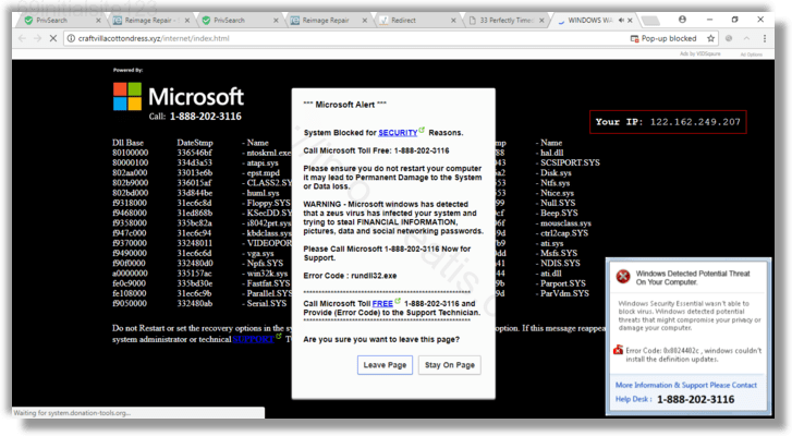 How to get rid of 69initialsite123 adware redirect virus from chrome, firefox, internet explorer, edge