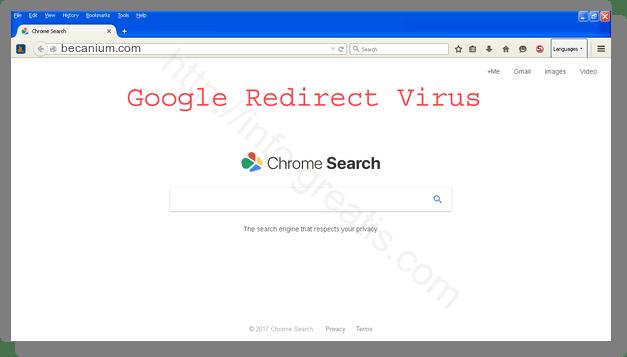 How to get rid of becanium.com adware redirect virus from chrome, firefox, internet explorer, edge