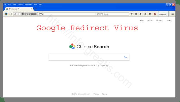 How to get rid of dictionaruext.xyz adware redirect virus from chrome, firefox, internet explorer, edge