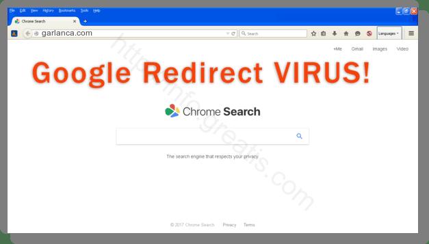 How to get rid of garlanca.com adware redirect virus from chrome, firefox, internet explorer, edge