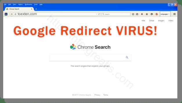 How to get rid of toexten.com adware redirect virus from chrome, firefox, internet explorer, edge