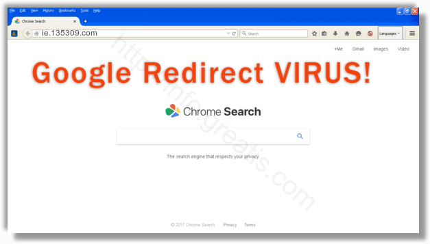 How to get rid of ie.135309.com adware redirect virus from chrome, firefox, internet explorer, edge