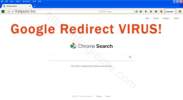 How to get rid of FRATGAZER.BIZ adware redirect virus from chrome, firefox, internet explorer, edge