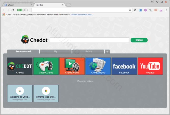 Web site AAAZZZ SETUP displays popup notifications