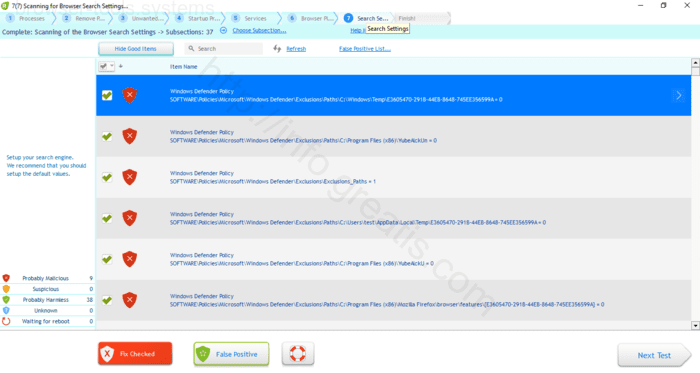 Browser is redirected to the BROWSER-TOOLS.SYSTEMS site