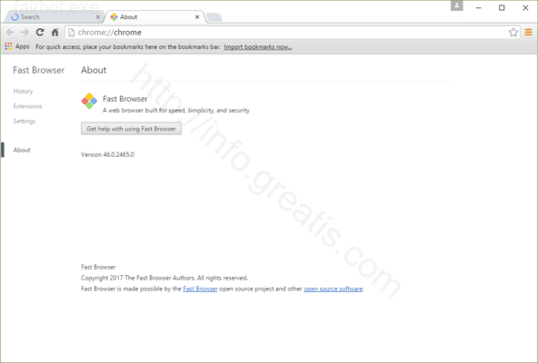How to get rid of FAIRBOT.EXE adware redirect virus from chrome, firefox, internet explorer, edge
