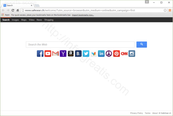 How to get rid of SPORTS SCORE adware redirect virus from chrome, firefox, internet explorer, edge