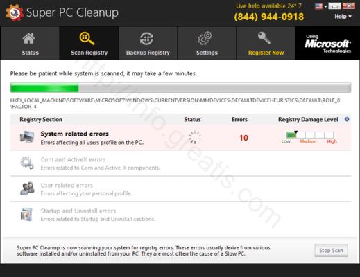 Web site CHAIRGAUBSY.COM displays popup notifications