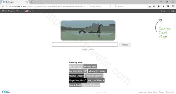 Web site OTTOMDISEDE.CLUB displays popup notifications