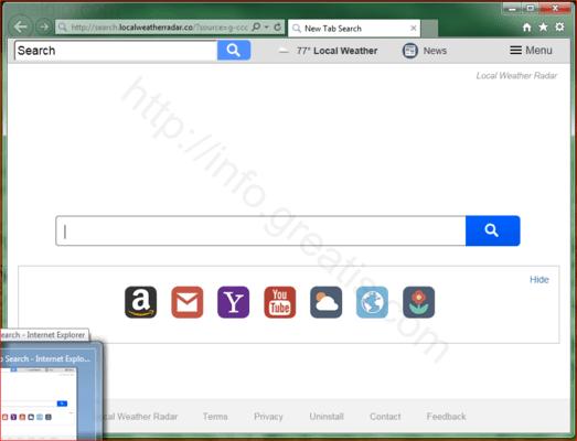 Web site VELDIP.COM displays popup notifications