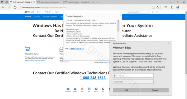 Fake Installer YGHF SETUP infects user's PC