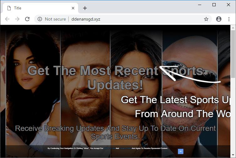 Как избавиться от уведомлений ddenansgd.xyz в браузерах chrome, firefox, internet explorer, edge