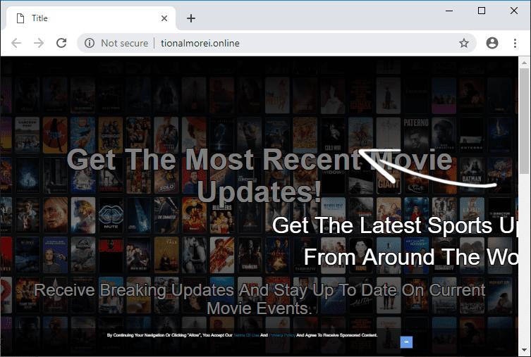Как избавиться от уведомлений tionalmorei.online в браузерах chrome, firefox, internet explorer, edge
